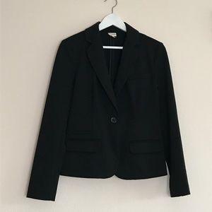 Merona blazer single button black